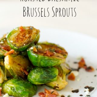Rosted Balsamic Brussels Sprouts