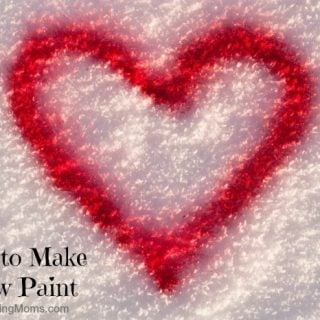 How to make Snow Paint