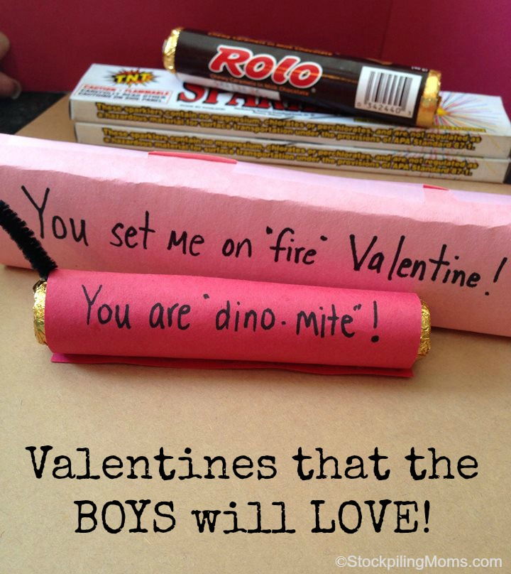Valentines the Boys will Love