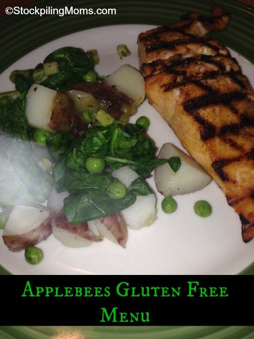 photograph about Printable Applebees Menu known as Applebees Gluten Totally free Menu - STOCKPILING MOMS™