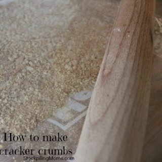 How to make cracker or bread crumbs