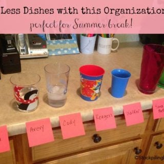 Wash Less Dishes with this Organization Tip