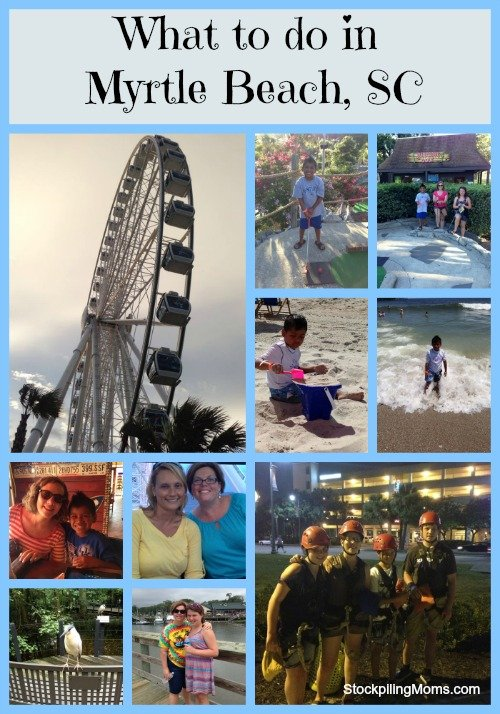 What can you do in Myrtle Beach, SC?