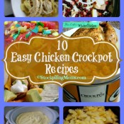 10 Easy Chicken Crockpot Recipes Collage