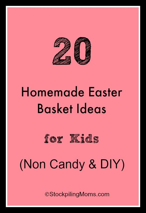 20 homemade easter basket ideas for kids negle Image collections