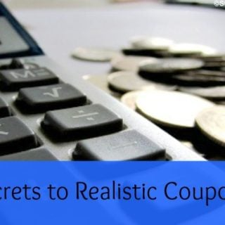 5 Secrets to Realistic Couponing