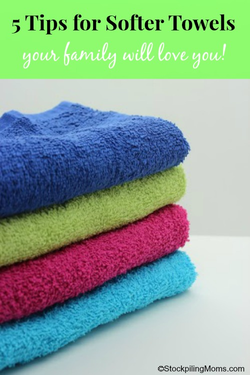 5 Tips for Softer Towels Post