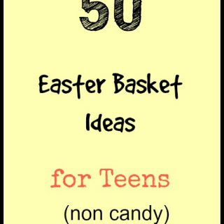 50 Easter Basket Ideas for Teens