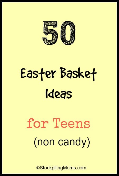 50 easter basket ideas for teens 50 easter basket ideas for teens non candy this is an awesome list negle Image collections