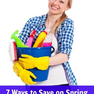 7 Ways to Save on Spring Cleaning Supplies