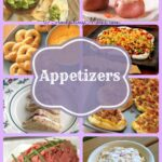 Appetizers Collage