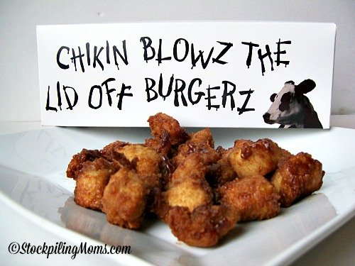 Apple Chipotle BBQ Chicken Bites are great for parties!