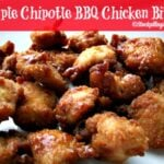Apple Chipotle BBQ Chicken Bites3