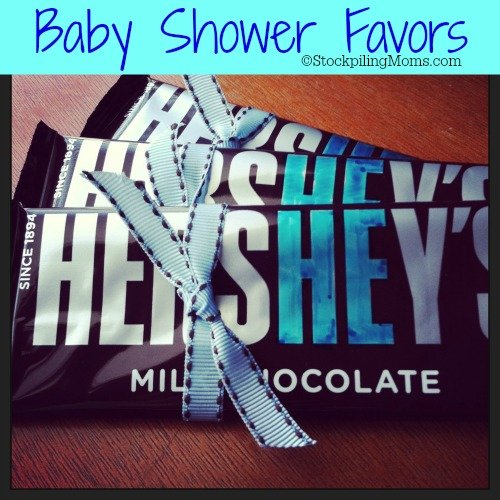 Easy Baby Shower Favor