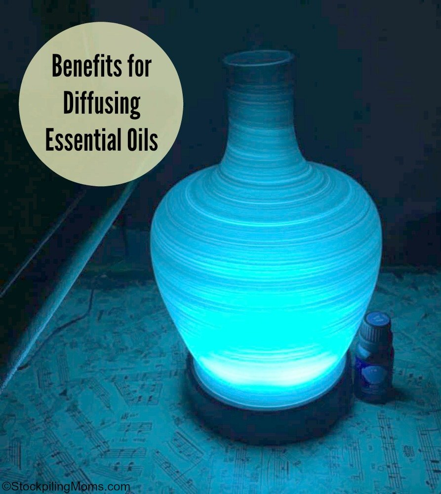 Benefits for Diffusing Essential Oils