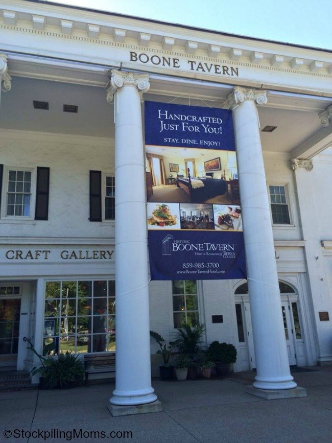 Boone Tavern is a great girls trip or weekend getaway destination