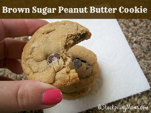 Brown Sugar Peanut Butter Cookies are simply delicious!
