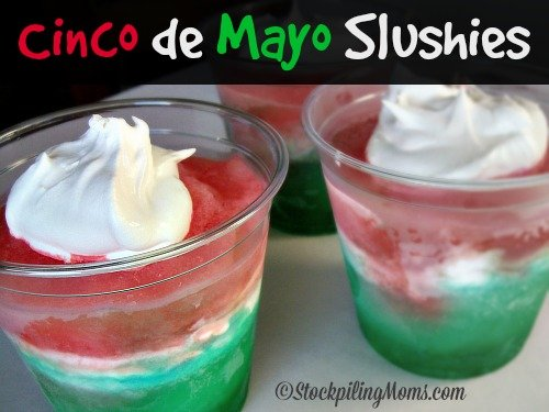 Cinco de Mayo Slushies are perfect for celebration! #cincodemayo