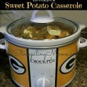 Crockpot Sweet Potato Casserole2