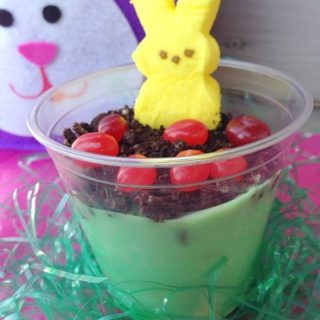 Easter Peeps Pudding Cups