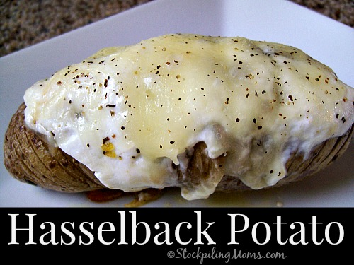 Hasselback Potato4