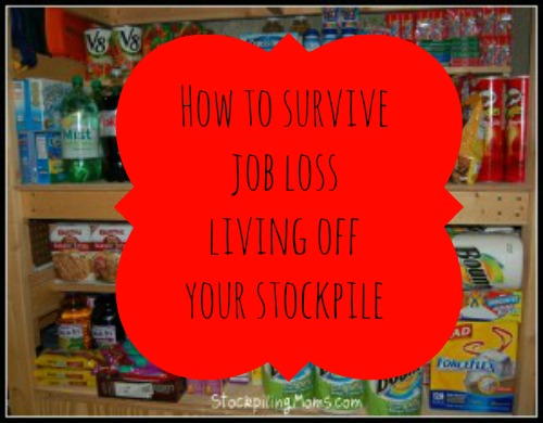 How to survive job loss - Living off your stockpile