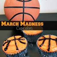 March Madness Cupcakes