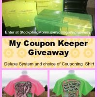 My Coupon Keeper Giveaway