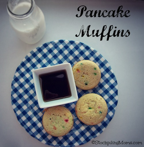 Pancake Muffins are perfect for on the go mornings!