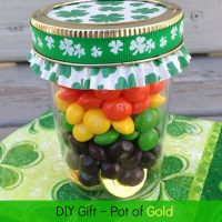 DIY St. Patrick's Day Gift – Pot of Gold at the end of the Rainbow
