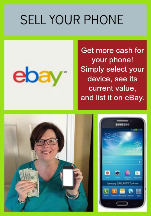 Sell your phone on eBay for extra cash