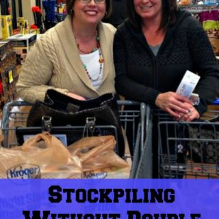 Stockpiling Without Double Coupons