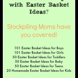 Easter Basket Ideas for Kids, Baby, Teens