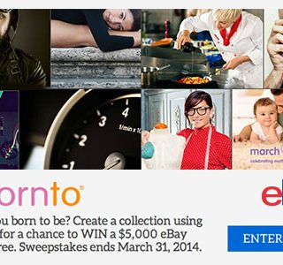 eBay Collections sweepstakes