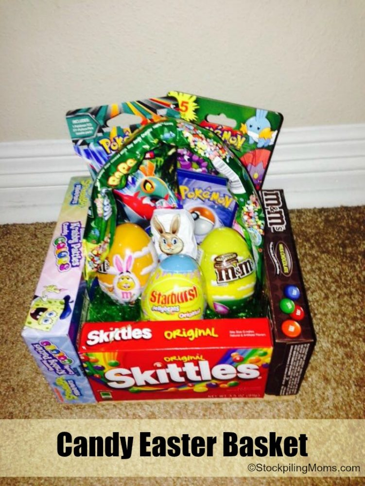 Candy easter basket easter candy basket movie theme negle Choice Image