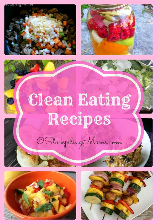 Clean Eating Recipes Collage