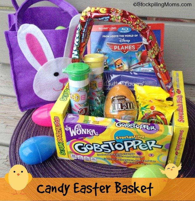Candy easter basket love this easy easter candy basket i made a movie theme with it negle Image collections