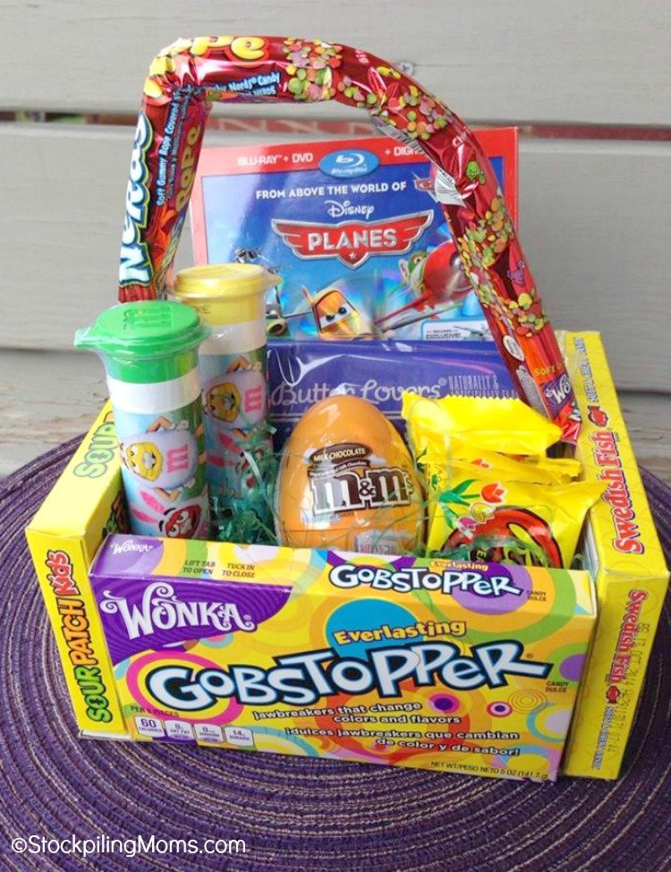 Candy easter basket negle Choice Image