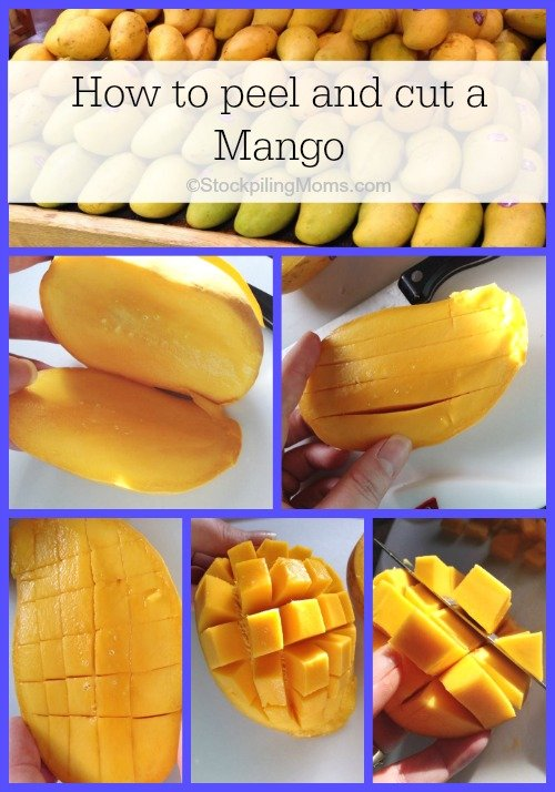 How to peel and cut a Mango