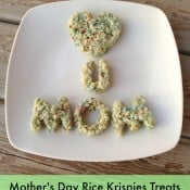 Mother's Day Rice Krispies Treats