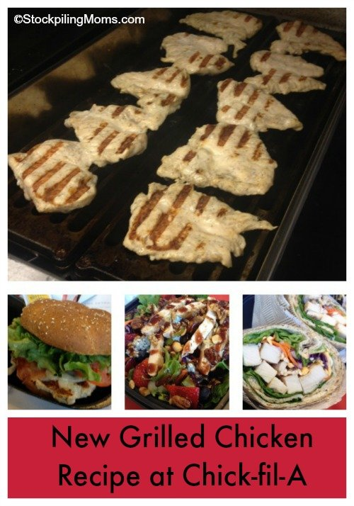 New Grilled Chicken Recipe at Chick-fil-A