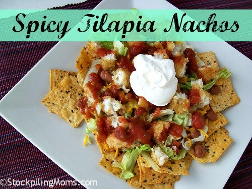 Spicy Tilapia Nachos is the perfect appetizer!