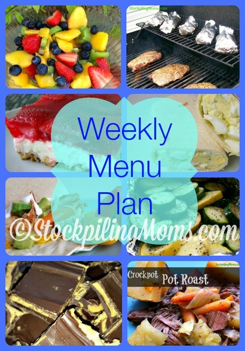 ©StockpilingMoms.com Weekly Menu Plan
