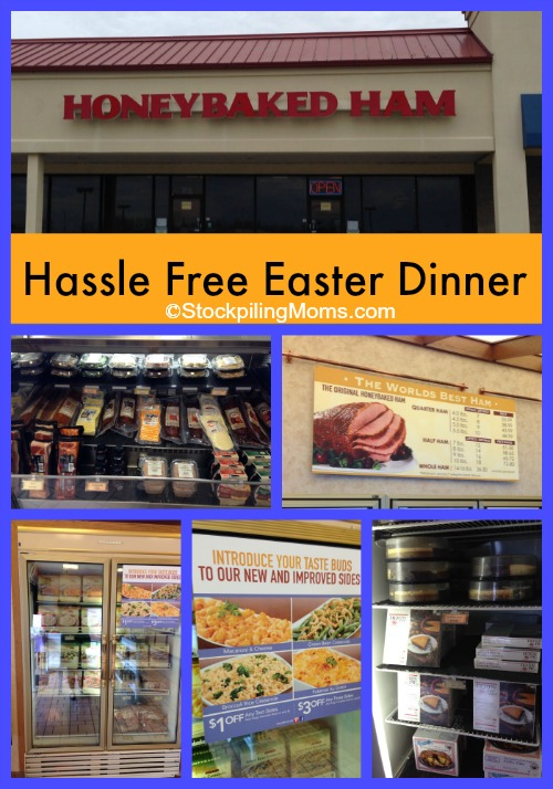 hassle-free Easter dinner