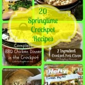 20 Springtime Crockpot Recipes