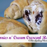Berries n' Cream Crescent Rolls