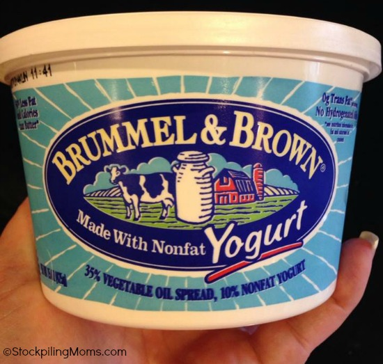 Brummel & Brown Spread is made with