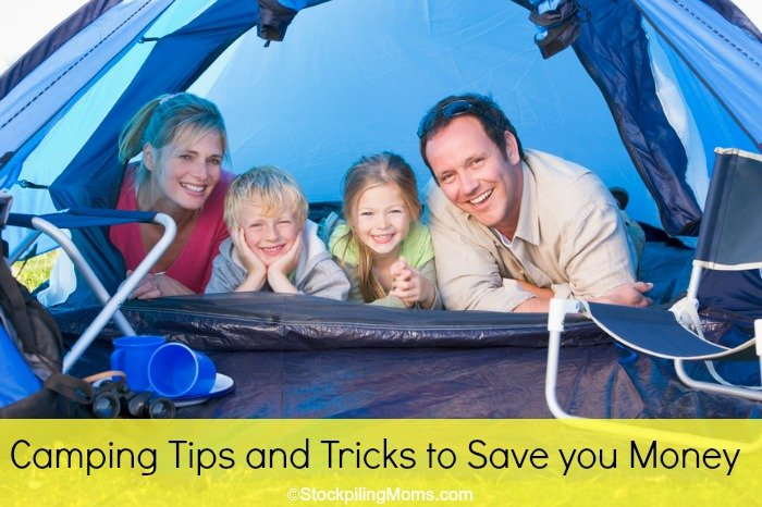 Camping Tips and Tricks to Save you Money