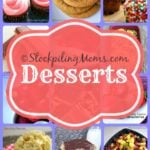 Dessert Recipes Collage