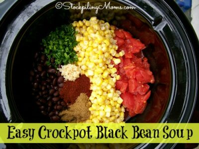 Easy Crockpot Black Bean Soup2